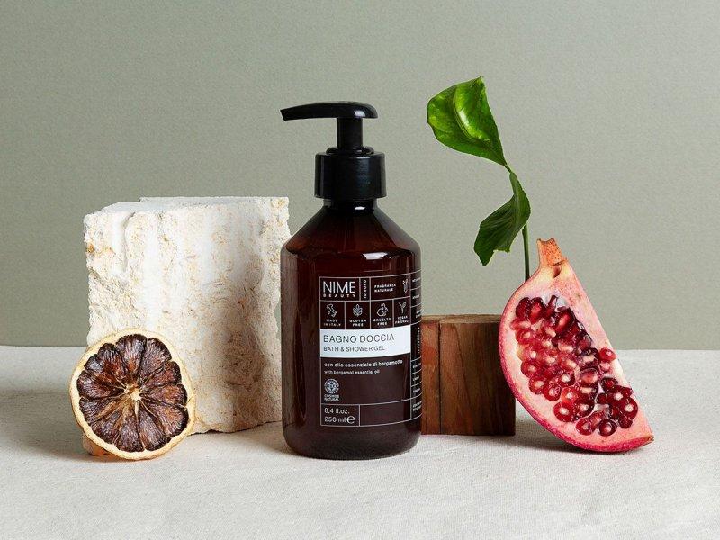 NIME BeautyBagno Doccia con olio essenziale di bergamotto