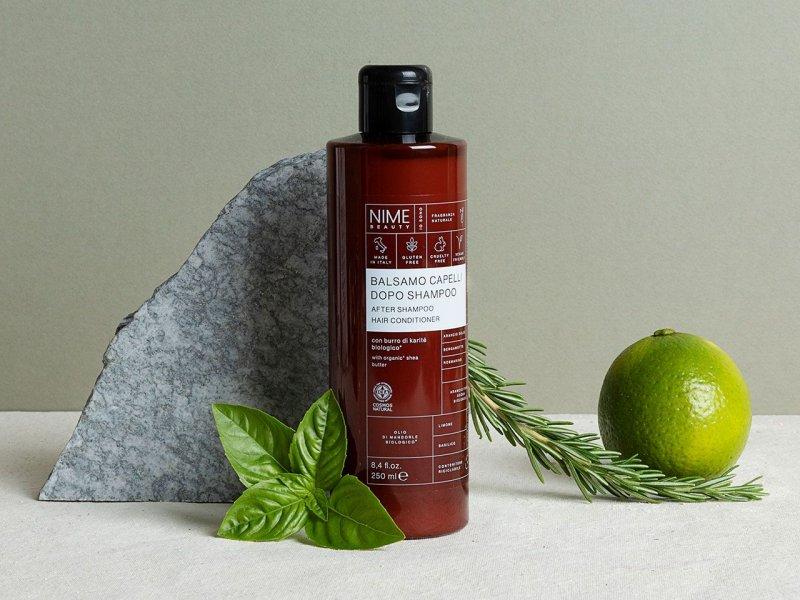 NIME BeautyBalsamo Capelli dopo Shampoo con burro di karitè biologico