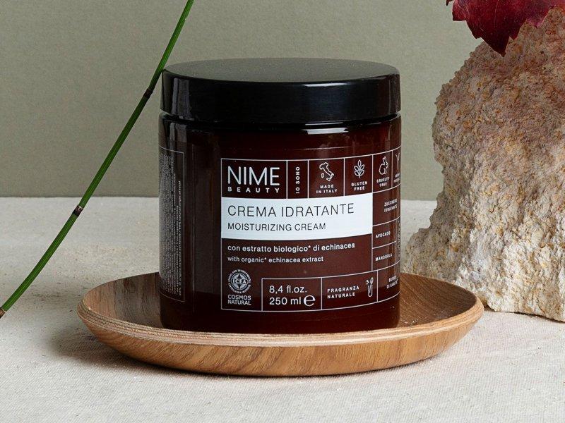 NIME BeautyCrema Idratante con estratto biologico di echinacea