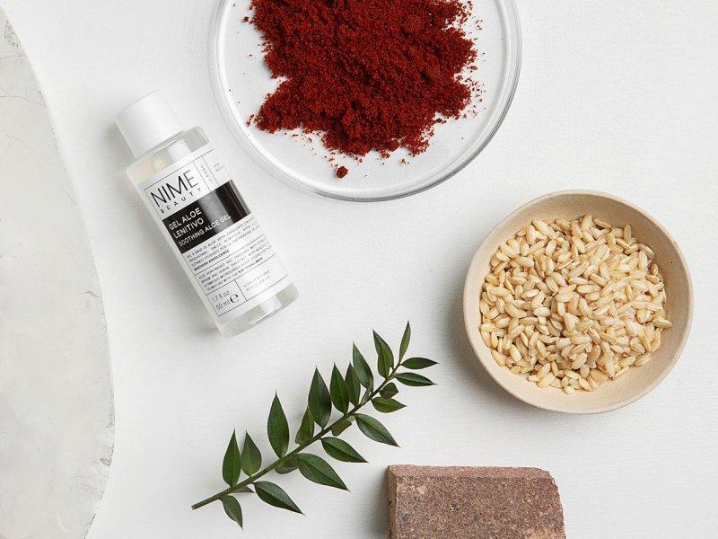 NIME BeautyMaschera Viso Fai da Te Antiossidante + Gel Aloe Lenitivo