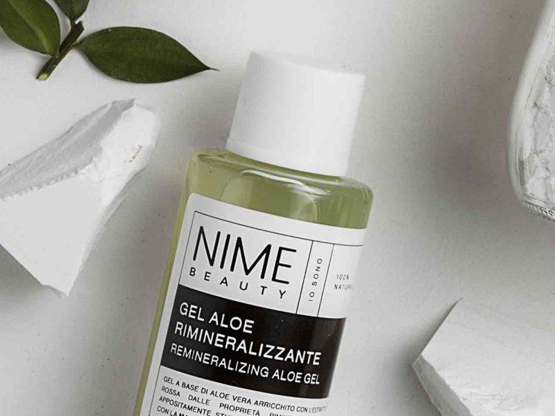 NIME BeautySet Maschera Rimineralizzante + 4 Gel Aloe Vera