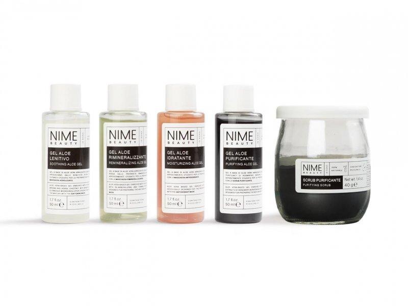 NIME BeautySet Scrub Purificante + 4 Gel Aloe Vera