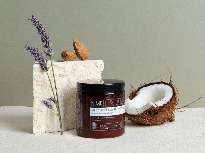 NIME BeautyMaschera Capelli Nutriente con olio di camelia giapponese