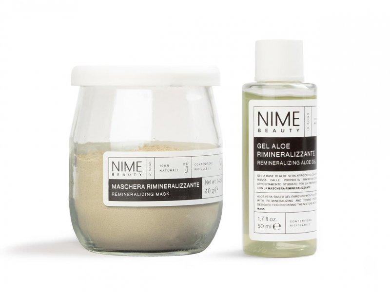 NIME BeautyMaschera Viso Rimineralizzante + Gel Aloe Rimineralizzante