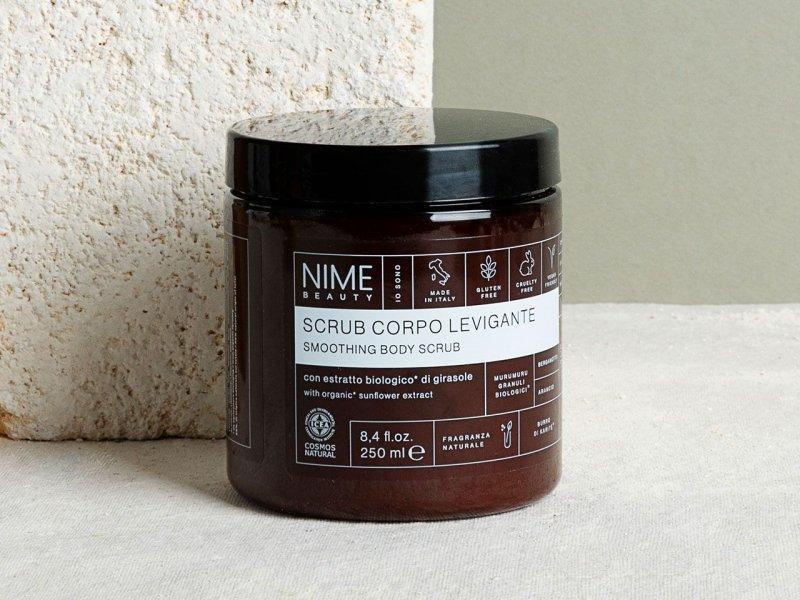 NIME BeautyScrub Corpo Levigante con estratto biologico di girasole