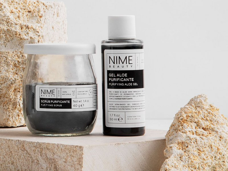 NIME BeautyScrub Viso in Polvere Purificante