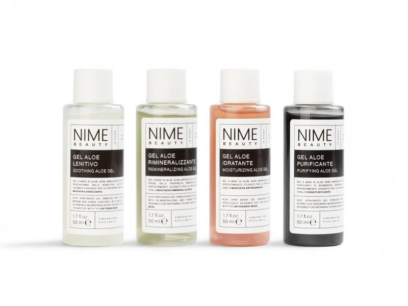 NIME BeautySet 4 Gel Aloe Vera