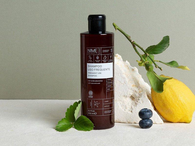 NIME BeautyShampoo Uso Frequente con acido jaluronico