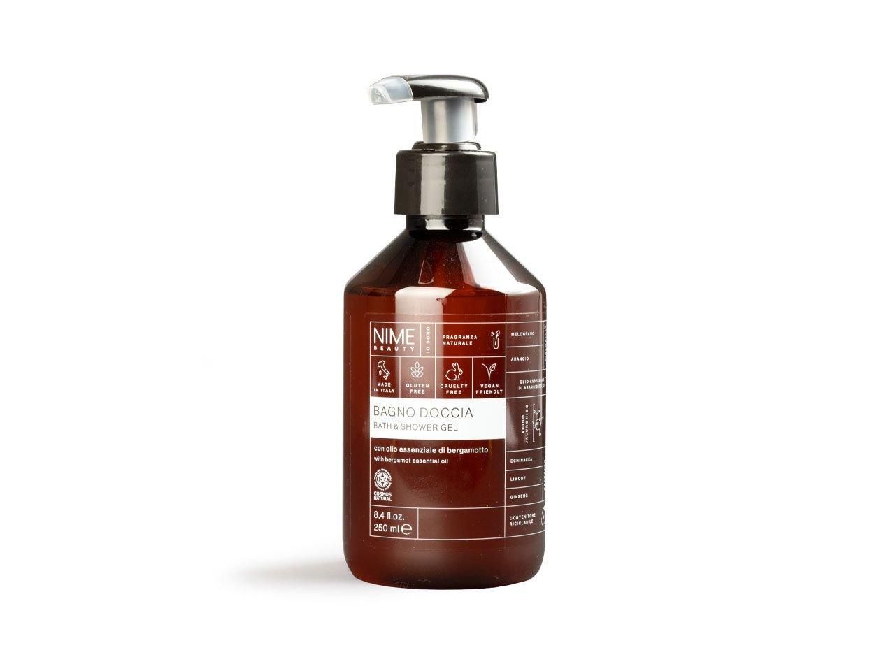 Bagno Doccia con olio essenziale di bergamotto - v2