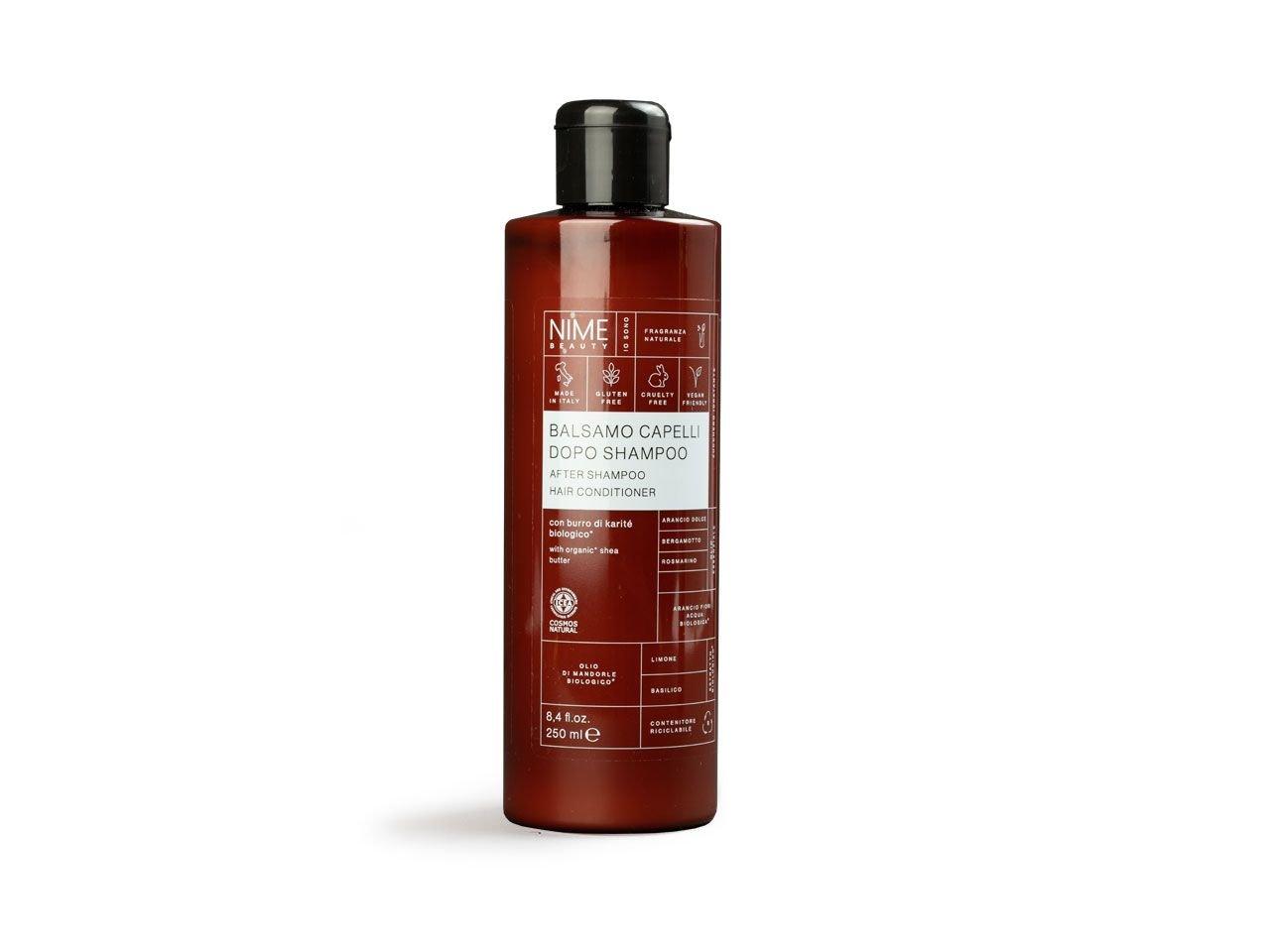 Balsamo Capelli dopo Shampoo con burro di karitè biologico - v2