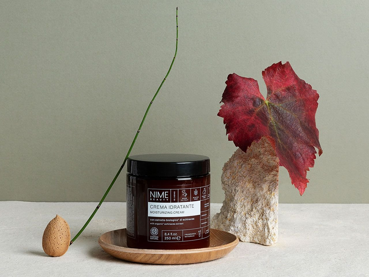 Crema Idratante con estratto biologico di echinacea - v1