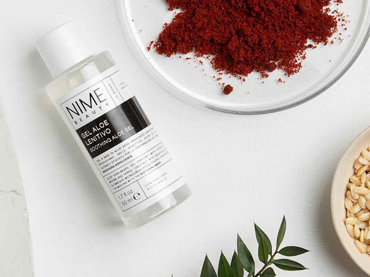 Maschera Viso Fai da Te Antiossidante + Gel Aloe Lenitivo - v6